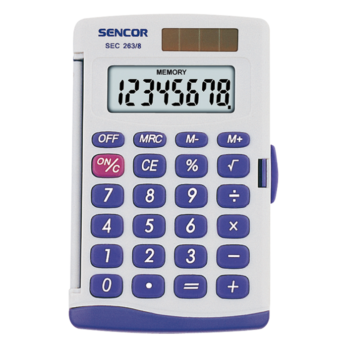 Handheld Calculator SENCOR SEC 263/8