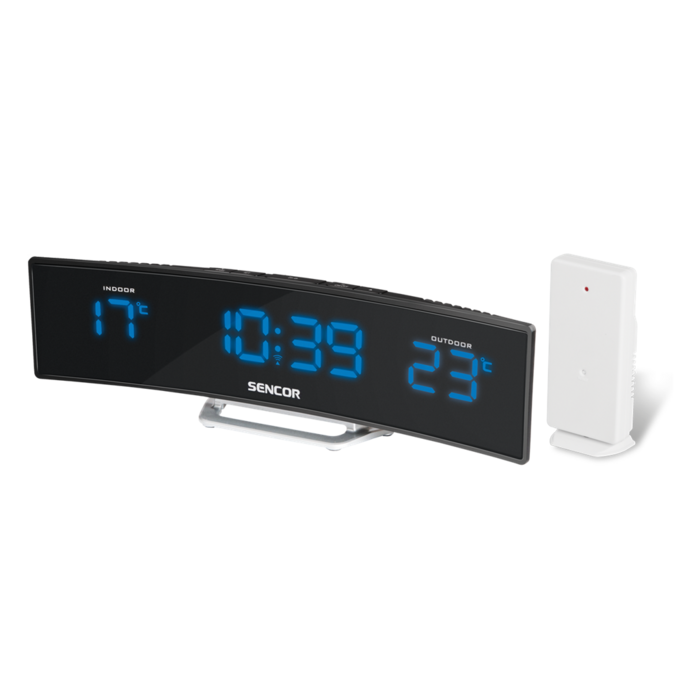 Alarm Clock with Indoor and Outdoor Temperature Sencor SWS 100