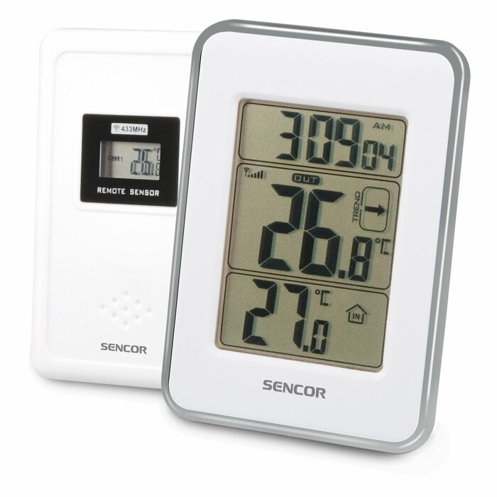 Sencor SWS 25 WS Silver,White digital weather station