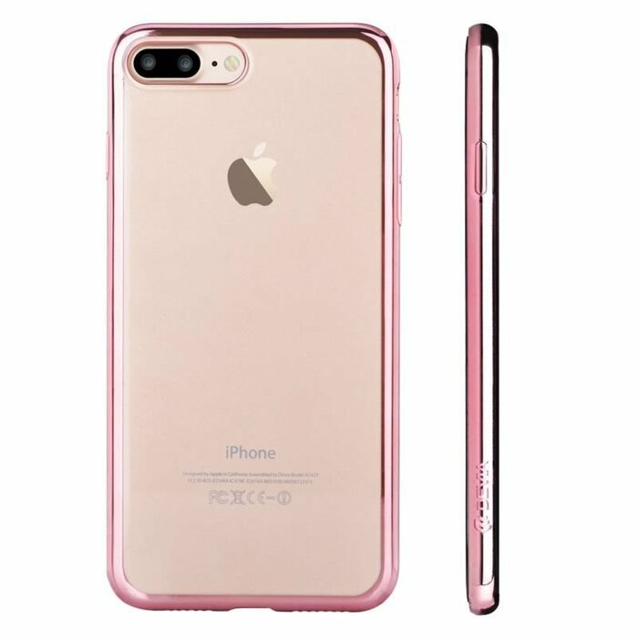 DEVIA Apple iPhone 7 Plus/8 Plus Glitter soft case  Rose Gold