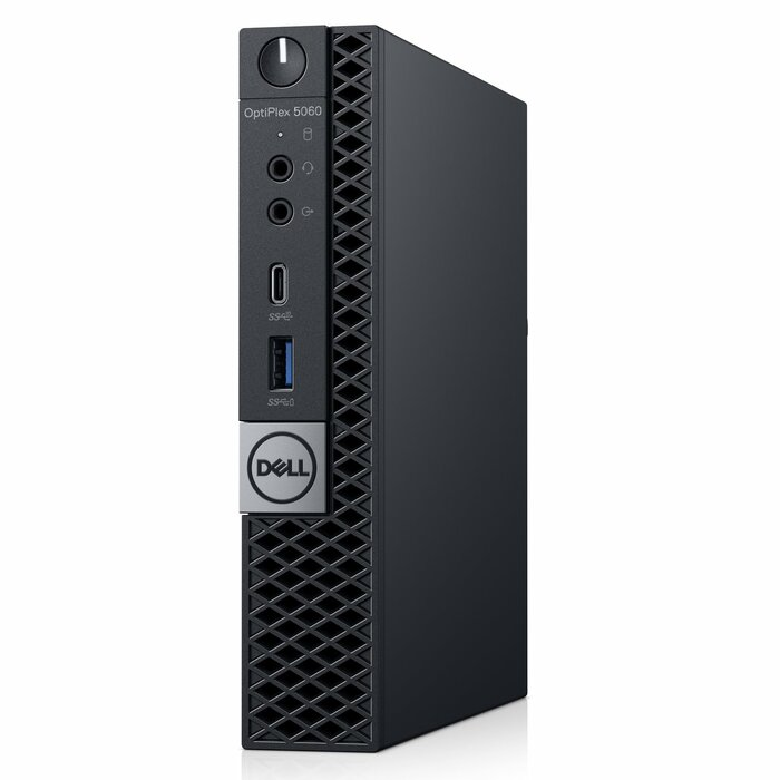 DELL OptiPlex 5060 Micro Intel® Core™ i5-8500T, 8GB RAM, 256GB SSD, WiFi, Windows 10 Pro