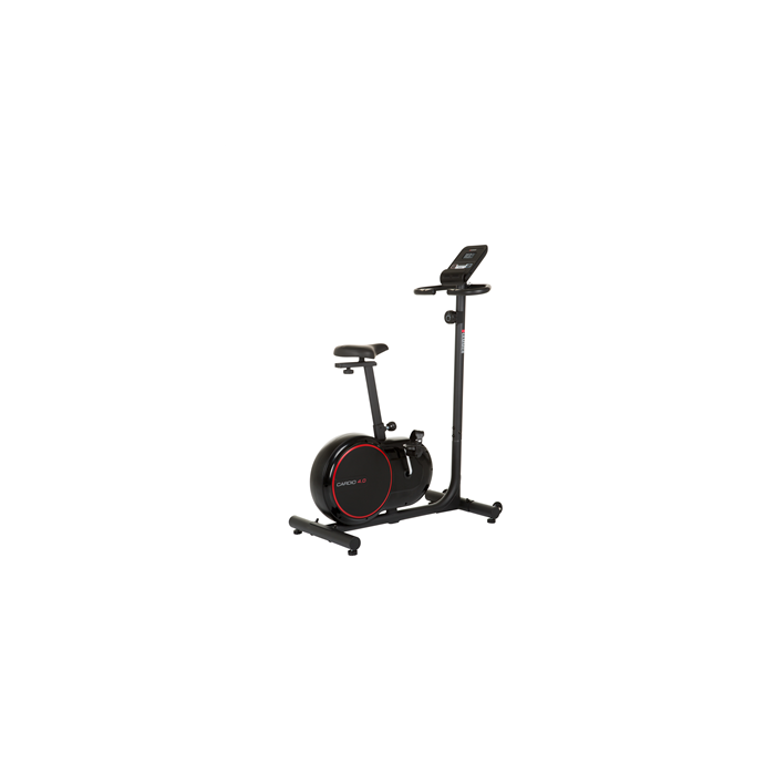 Hammer Cardio 4.0 Fitness Bike Magnetic, 110 kg, Black/Red, LCD display