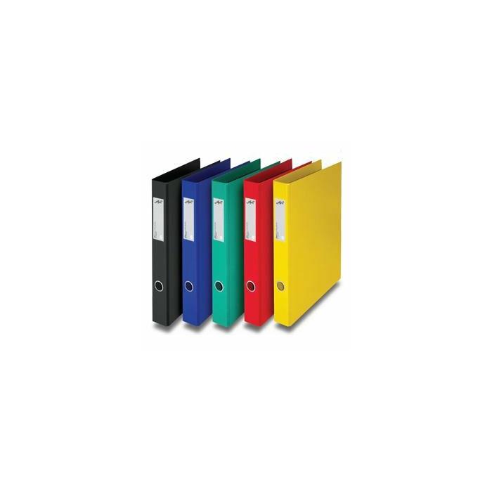 Mape ELFEN A4 ar 4 riņķiem dzeltena