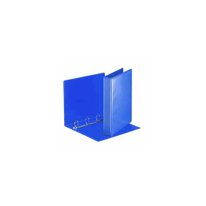 Mape A4 Panorama ar 4D riņķiem 55mm,  zila