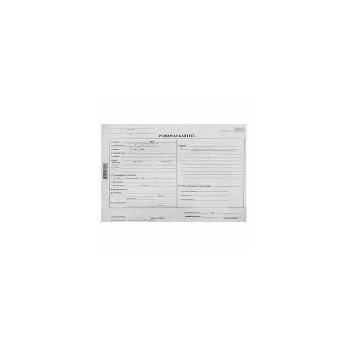 Personas kartīte A4DK/10