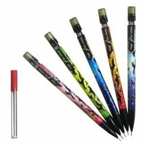 *Mehāniskais zīmulis 0.5mm FLAIR X-STRONG +grifeli