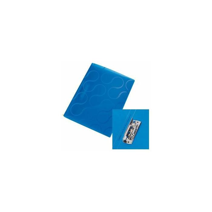 Mape ar piespiedēju A4 Omega zila