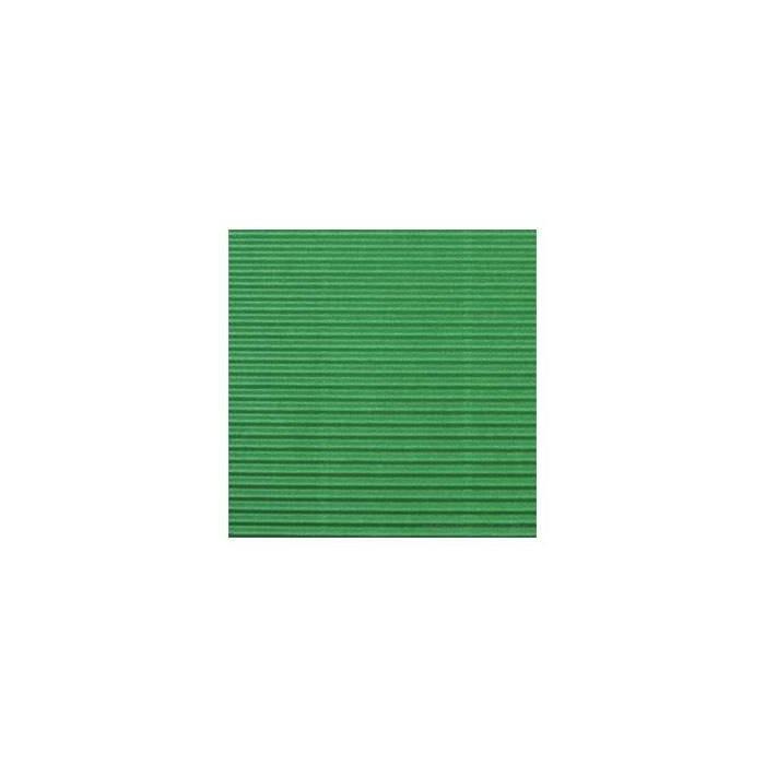 Gofrēts kartons 500x700mm zaļš,  1 loksne