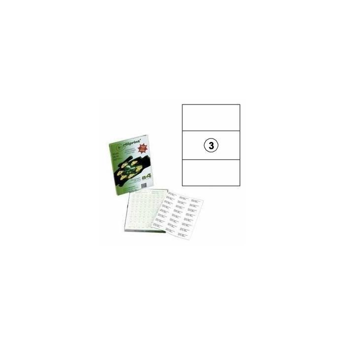 Uzlīmes Rillprint 210x99mm 100 loksnes A4 formāta,  Rillstab