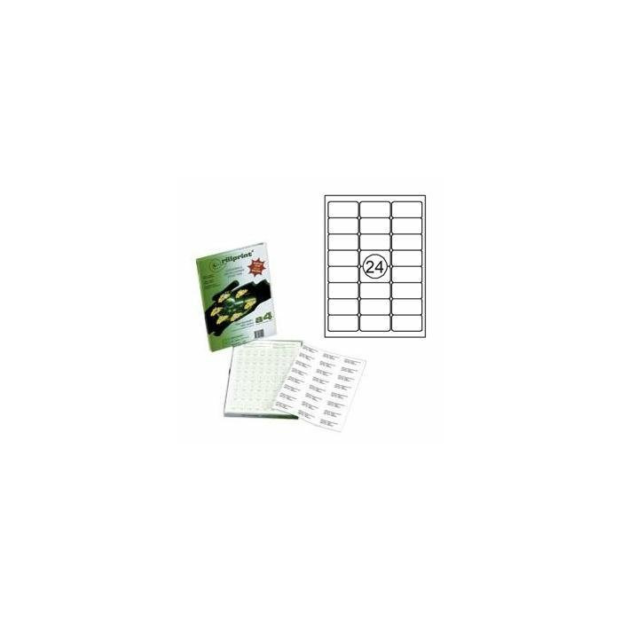 Uzlīmes Rillprint 63.5x33.9mm 25 loksnes,  Rillstab