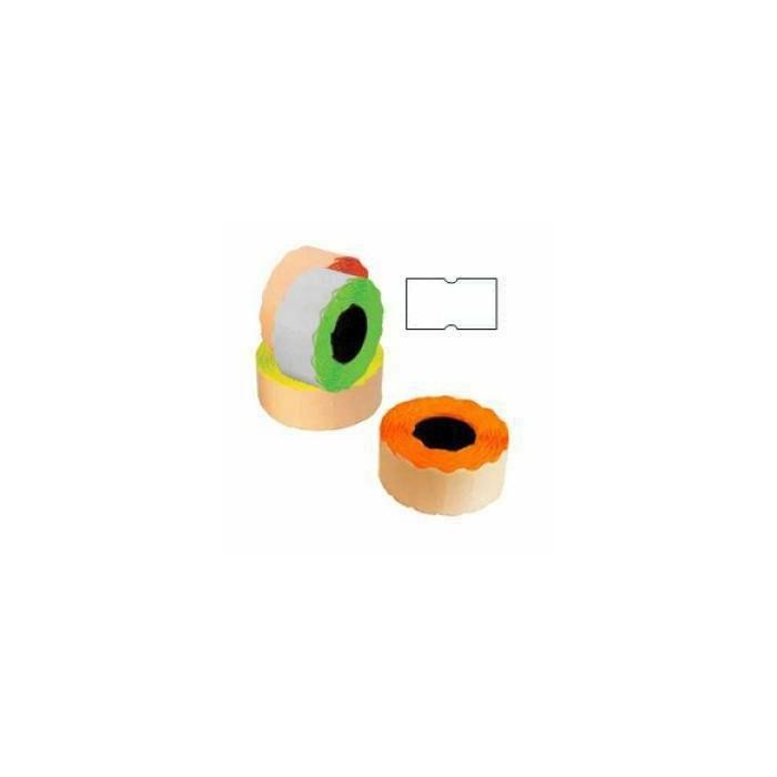 Marķēšanas lente 21.5x12mm balta,  1000 uzl / rul
