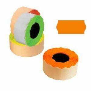 *Marķēšanas lente 26x12mm oranža 1000 uzl./rul.