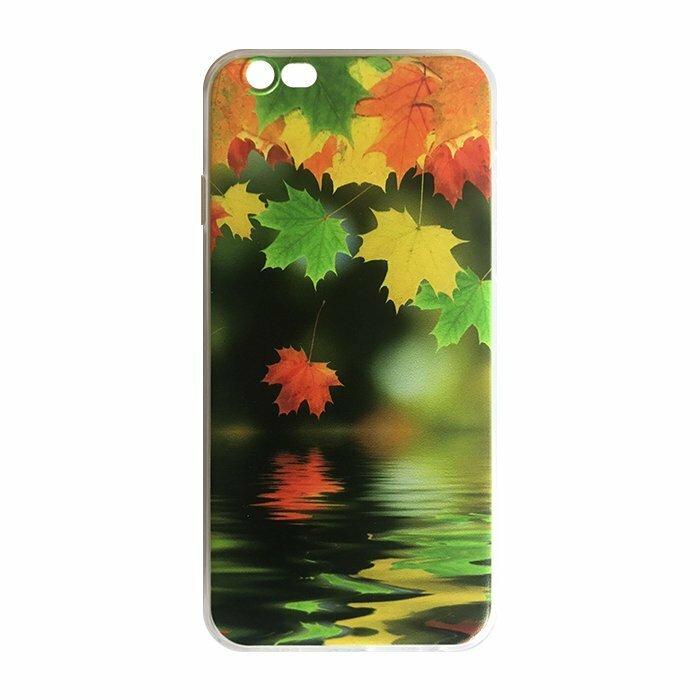 Mocco Trendy Maple Silikona Apvalks Priekš Huawei P8 Lite / P9 Lite (2017)