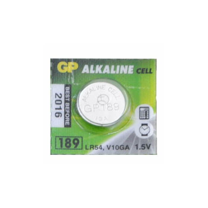 Alkaline button LR54