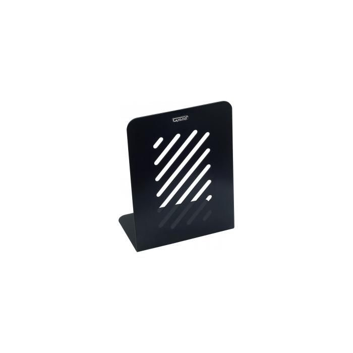Grāmatu turētājs GR-048 2gab. melns