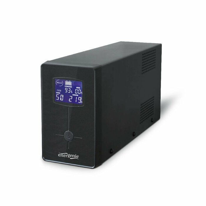 EnerGenie EG-UPS-031 uninterruptible power supply (UPS) 650 VA 2 AC outlet(s) Line-Interactive