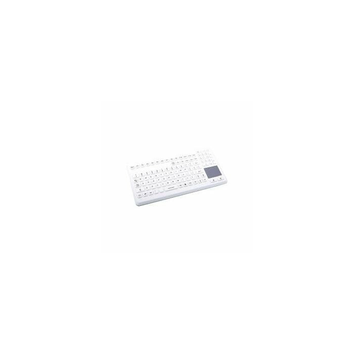 GETT TKG-104-TOUCH-IP68-GREY - Tastatur - USB - Deutsch - Grau (TKG-104-TOUCH-IP68-GREY-U)
