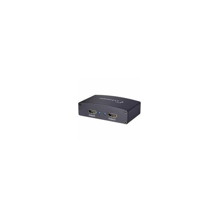 SpeaKa Professional 2 Port HDMI-Splitter Ultra HD-f