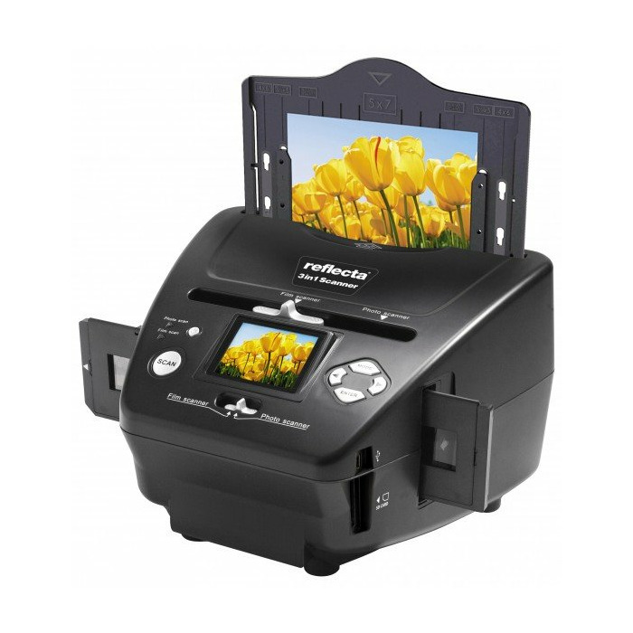 Reflecta 64220 scanner Film/slide scanner 2300 x 2300 DPI Black