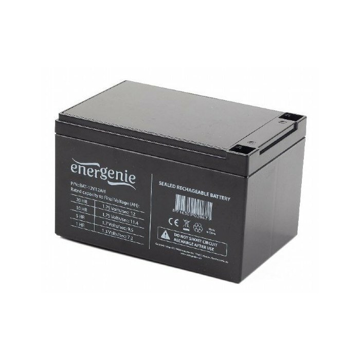 Gembird BAT-12V12AH Sealed Lead Acid (VRLA) 12Ah 12V UPS battery