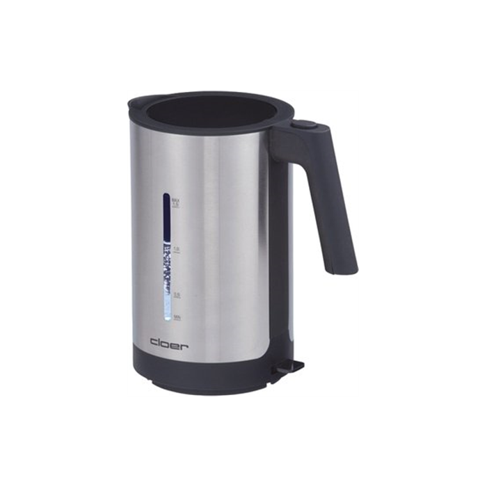 CLoer 4609 Electronic kettle, Stainless steel, 2200 W, 360° rotational base, 1.5 L