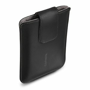 "Garmin 010-12101-00 6"" Pull Leather Black"