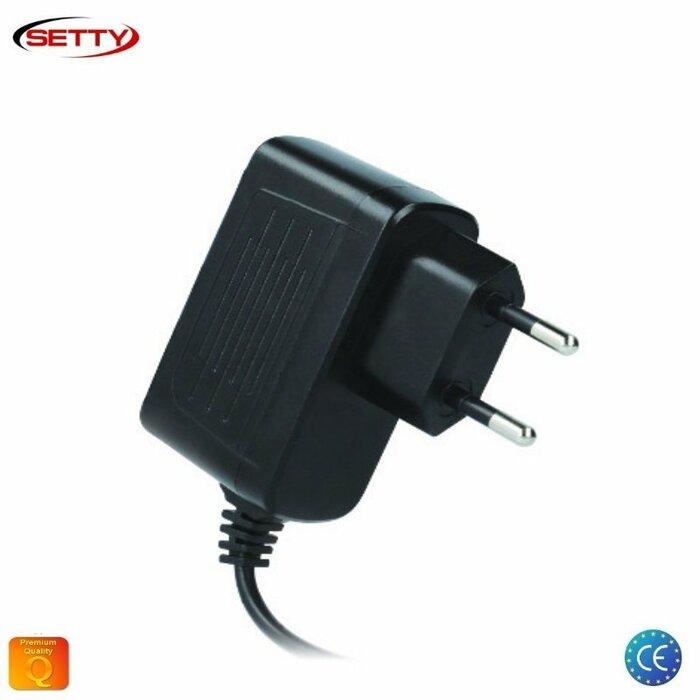 Setty 2.1A Micro USB Universāls Tīkla Lādētājs Planšetdatoriem / Telefoniem ar 1.2m Kabeli Euro CE Melns