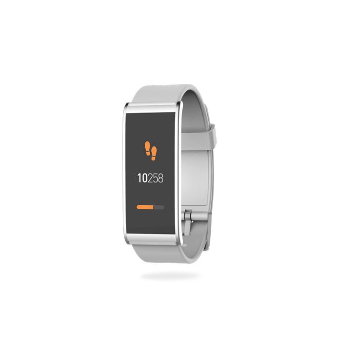 MyKronoz Smartwatch  Zefit4  80 mAh, Touchscreen, Bluetooth, Silver/ white, Activity tracker with smart notifications,