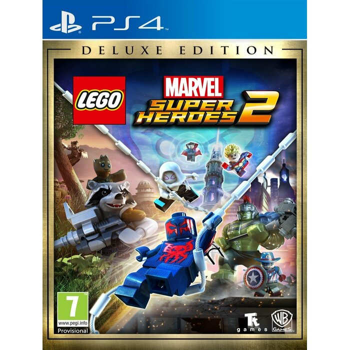 PS4 LEGO Marvel Super Heroes 2 Deluxe Edition incl. Season Pass