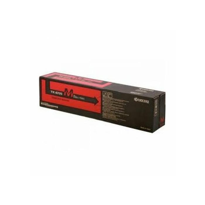 KYOCERA TK-8705M Laser toner 30000 pages Magenta