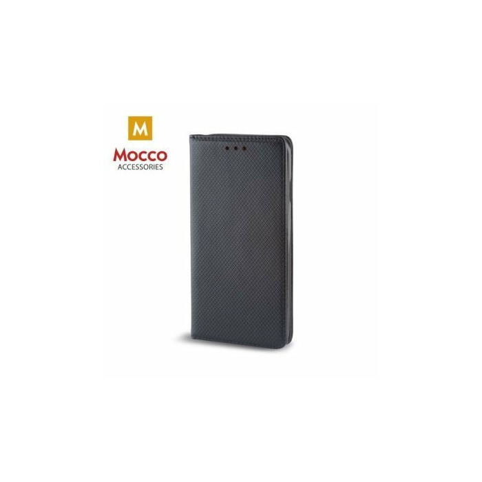 Mocco Smart Magnet Book Case Grāmatveida Maks Telefonam Apple iPhone X / iPhone 10 Melns