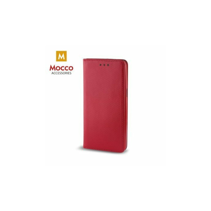 Mocco Smart Magnet Book Case Grāmatveida Maks Telefonam Nokia 3310 (2017) Sarkans