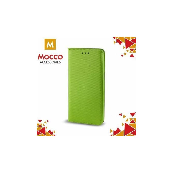 Mocco Smart Magnet Book Case Grāmatveida Maks Telefonam LG Q6 M700N Zaļš