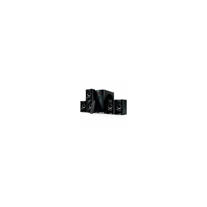 Speakers SVEN HT-201, black (80W, Bluetooth, FM, USB/SD, Display, RC unit)