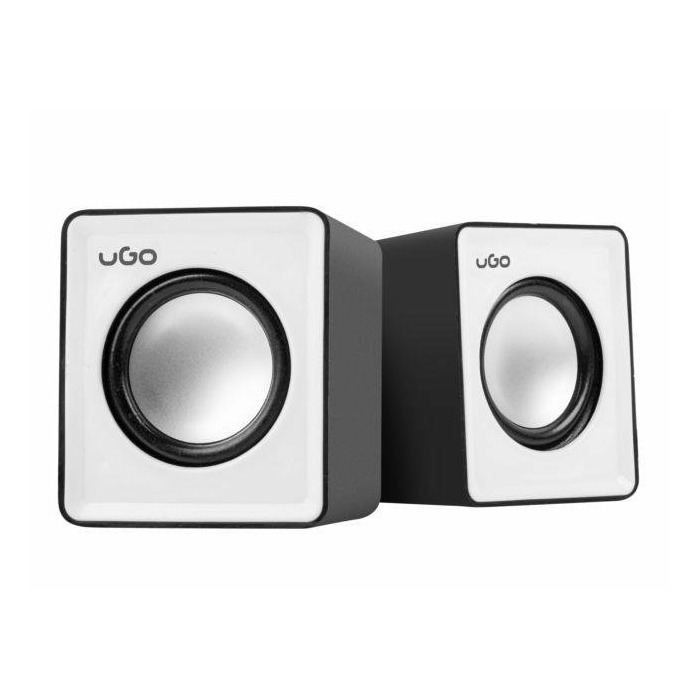 Natec UGO speakers 2.0, office, 2x3W, USB