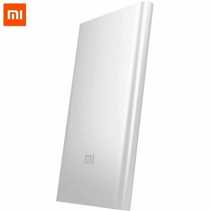 Xiaomi Mi Power Bank 5000mAh Alumīnija Ārējs Uzlādes Akumulātors USB 5V 2A Ligzda Sudraba NDY-02-AM