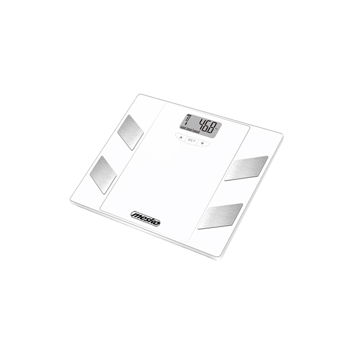 Mesko Bathroom scales   MS 8148  Maximum weight (capacity) 150 kg, Accuracy 100 g, Multiple user(s), White