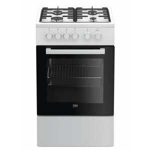Beko FSS52020DW cooker Freestanding cooker Gas White A