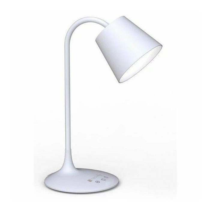 Techly Desk LED lamp 24 LEDs 4,5W 2700K/6500K with rechargeable battery white