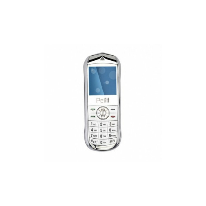 "Pelitt MINI1, 1.44"" screen, 0.3 MP camera, FM-radio, 400 mAh battery, White, Dual-SIM"