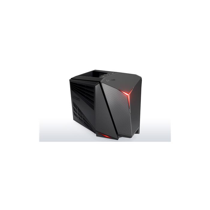 Lenovo IdeaCentre Legion Y720 Cube Desktop, Small Tower, Intel Core i5,  i5-7400, Internal memory 8 GB, DDR4, SSD 128 GB, HDD 1000 GB, NVIDIA  GeForce