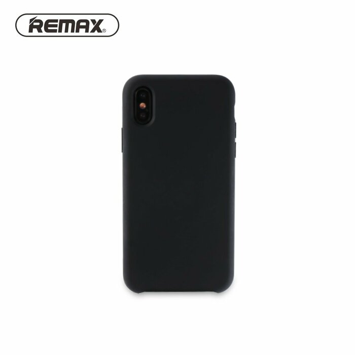 the best attitude 4809f eb9a0 Remax Kellen Series Soft feeling Super Thin TPU Matte surface back cover  case for Apple iPhone X / iPhone 10 / iPhone XS Black