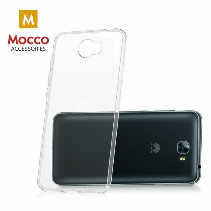Mocco Ultra Back Case 0.3 mm Silicone Case for Huawei Y5 II / Y6 Compact Transparent