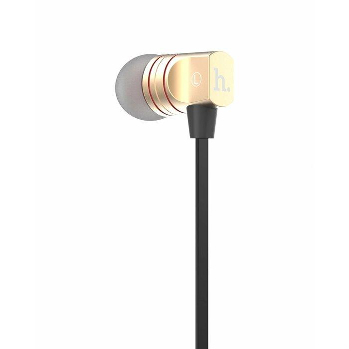 HOCO EPV02 Line Control Earphone with mic. HOCO Gold