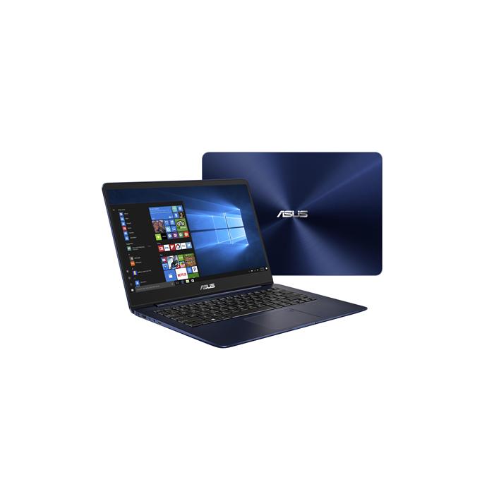 "Asus ZenBook UX430UA Blue, 14.0 "", IPS, FHD, 1920 x 1080 pixels, Matt, Intel Core i5, i5-8250U, 8 GB, DDR3 onboard, SSD 256 GB, Intel HD, Without ODD, Windows 10 Professional, 802.11 ac, Bluetooth version 4.1, Keyboard language English, Battery warranty 12 month(s)"