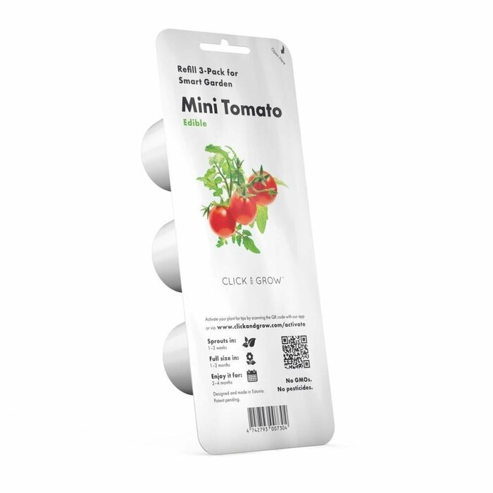 SMART HOME MINI TOMATO REFILL/TOM-REFILL-3 CLICK&GROW