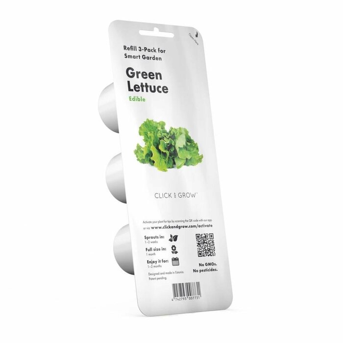 SMART HOME GREEN LETTUCE REF./GLETT-REFILL-3 CLICK&GROW
