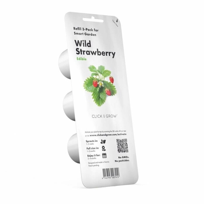 SMART HOME STRAWBERRY REFILL/WILD STRAW-REFILL-3 CLICK&GROW