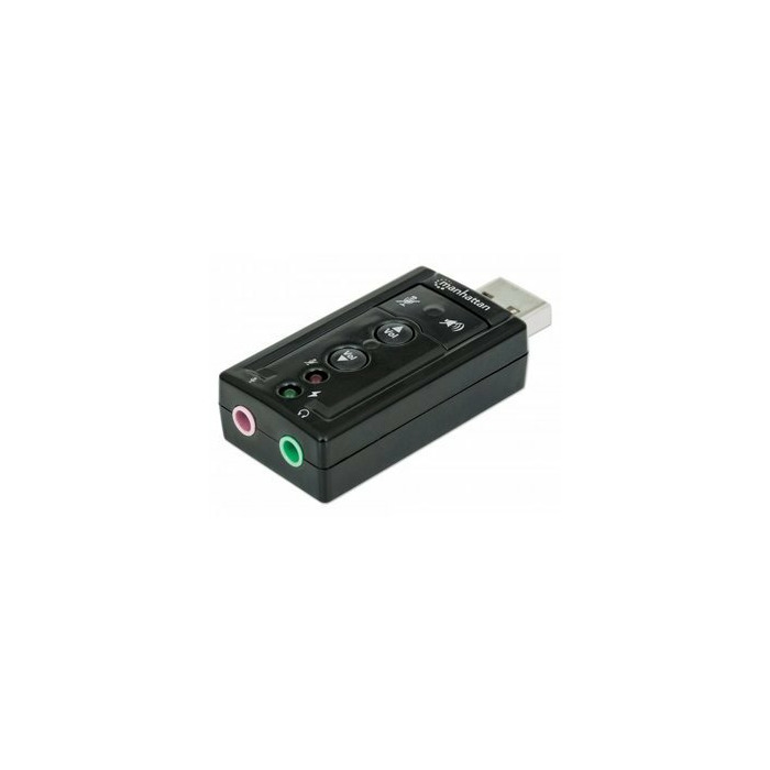 Manhattan 151429 audio card Internal 7.1 channels USB