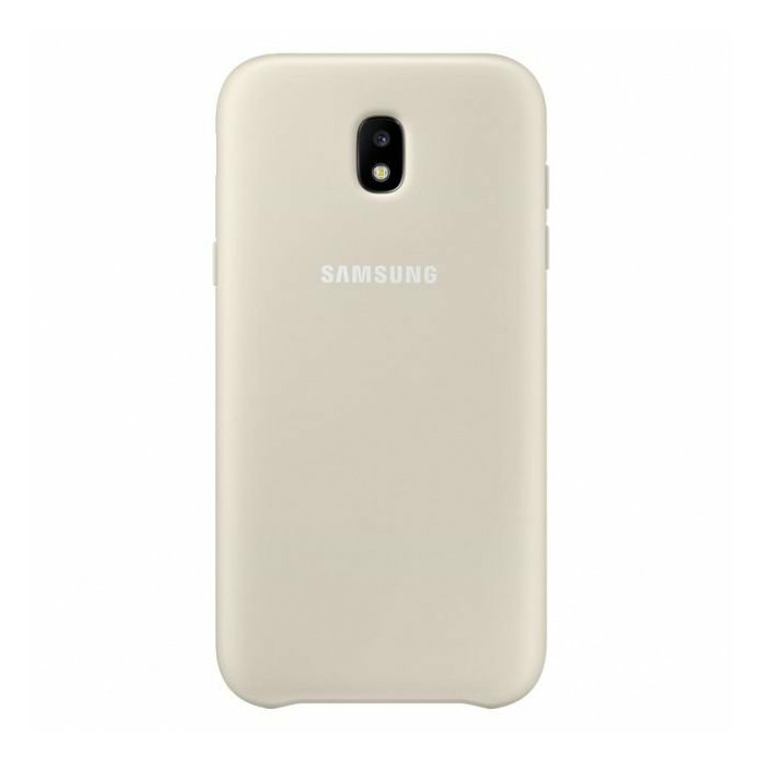 Samsung PJ530CFEG Dual Layer Cover for Galaxy J5 (2017)  Gold